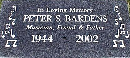 Barden's Headstone
