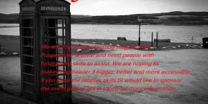 PROGMEISTER 3 | fund raising appeal