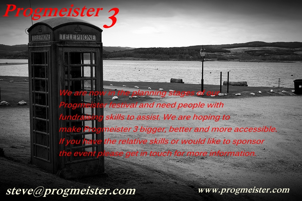 PROGMEISTER 3 | fund raising appeal